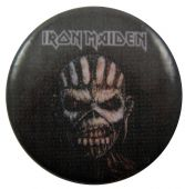 Iron Maiden - 'The Book of Souls' Button Badge